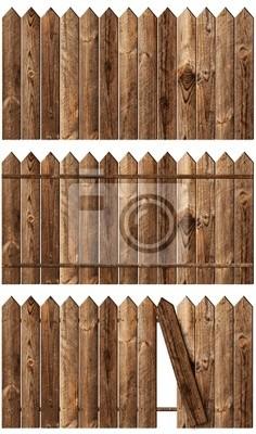 Holzzäune eingestellt