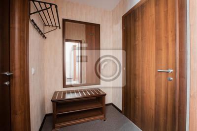 Hotel wohnung, flur zimmer interieur in den morgen fototapete ...