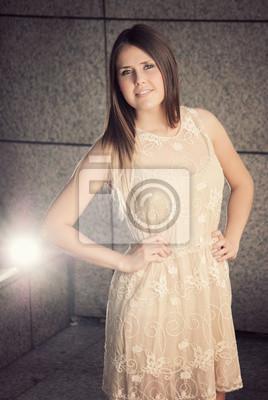 hübsche junge Mode-Modell