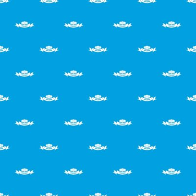 Hygiene wound pattern vector seamless blue