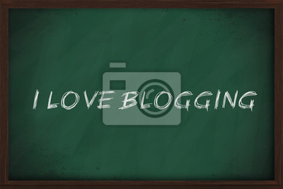 Ich liebe Blogging