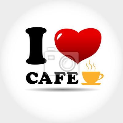 Ich liebe cafe