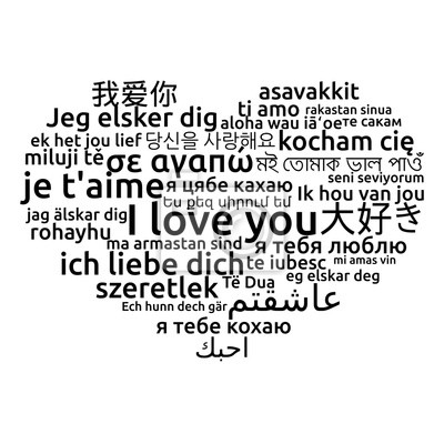 Ich liebe dich sprachen