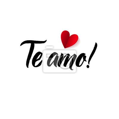 Ich Liebe Dich Valentinstag Spanische Oder Portugiesische