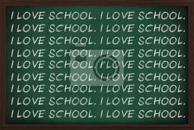 Ich liebe Schule
