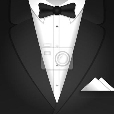 Illustration mit männlichen Smoking