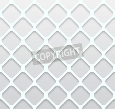 Fototapete Illustration von Papier Loch Nahtlose Muster abstrakt