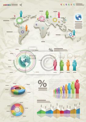Infografik-Beige
