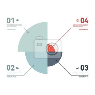 Infografik-geschäft banner vorlage design-element vektor ...