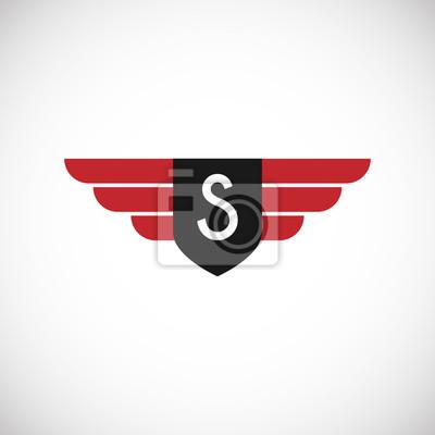 Initial letter s logo design, vektor icon vorlage für professionelle ...
