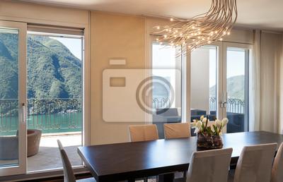 Schöne Esszimmer | Innen Luxus Wohnung Schone Esszimmer Fototapete Fototapeten