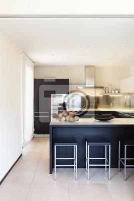 Innen Luxus Wohnung Schone Moderne Kuche Fototapete Fototapeten