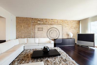 Fototapete: Innen luxus-wohnung, schöne wohnzimmer.