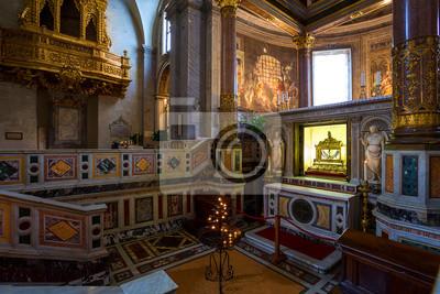 Fototapete Innenraum von San Pietro in Vincoli Kirche. Rom. Italien.