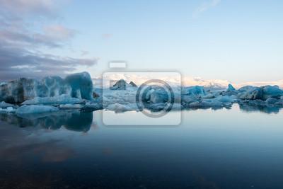 Insel - Eislagune Jökulsarlon