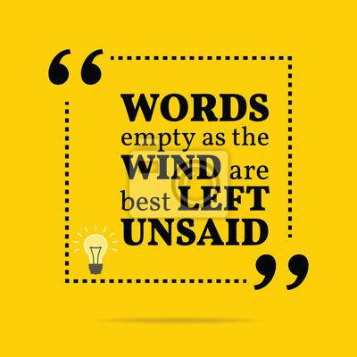 Inspirierend Motivierend Zitat Wörter Leer Wie Der Wind Sein
