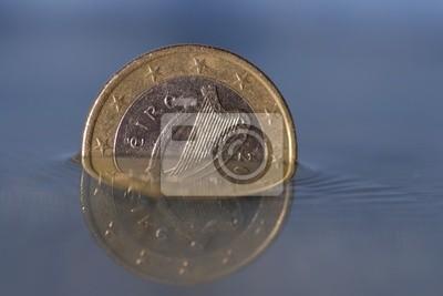 Irische 1 Euro Münze Fototapete Fototapeten Schwäche Kerl