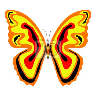 Schmetterlingsflügel zum ausmalen