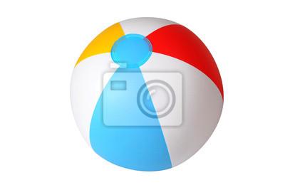 Fototapete Isoliert Wasserball