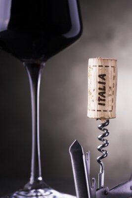 Fototapete Italienischen Wein