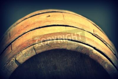 Fototapete Jahrgang Foto von alten Holzfass