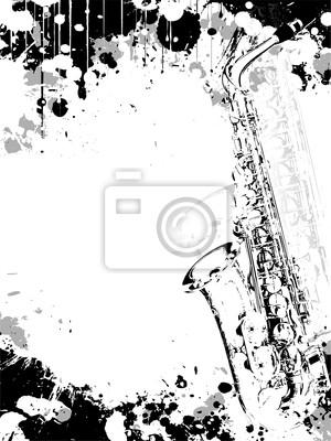 jazz poster background