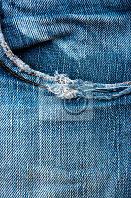 Jeans-Tasche