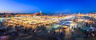 Fototapete Jemaa El Fnaa, Marrakesch Gästebewertungen