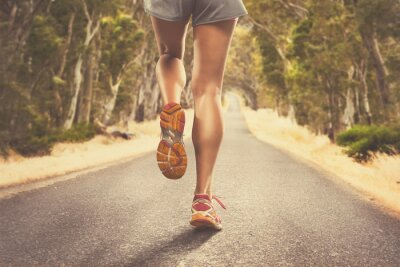Fototapete Jogging
