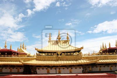 Jokhang Tempel Goldenes Dach