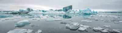 Fototapete Jokulsarlon, Gletscherlagune, Island