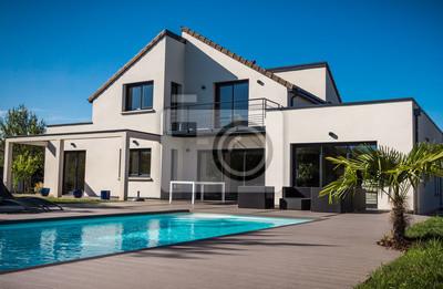 Fototapete: Jolie maison contemporaine