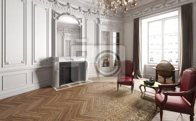 Apartment Einrichtung jugendstil apartment (einrichtung) fototapete • fototapeten in gips