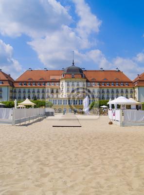 Fototapete Jugendstil-Villa, Sopot, Polen