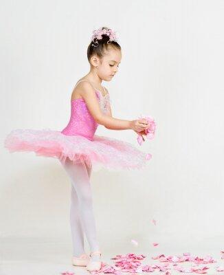 Fototapete junge Ballerina