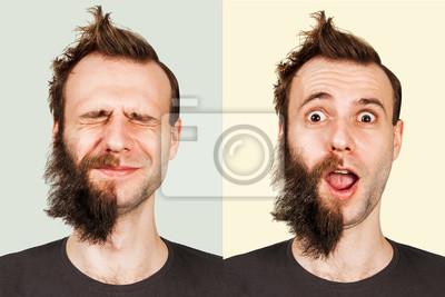 Bart mit bart ohne 40 Bart