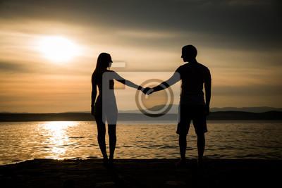 Liebe händchen halten Kostenlose foto