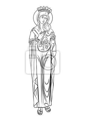160 Tatowierungen Der Jungfrau Maria Mit Bedeutung