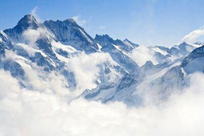 Fototapete Jungfraujoch Alpen Berglandschaft