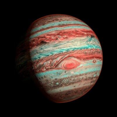 Fototapete Jupiter isoliert Planeten