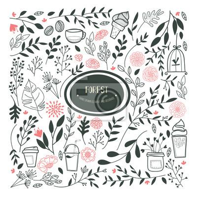 Kaffee-restaurant broschüre vektor-, café-menü-design. vector ...