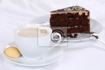 Kaffee Und Kuchen Schokolade Torte Schokoladenkuchen Nachtisch