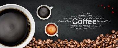 Fototapete Kaffeegrond