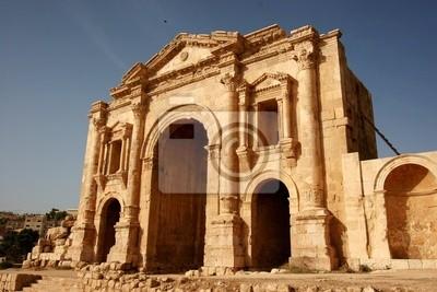 Kaiser Hadrians Bogen in Jerash, Jordanien