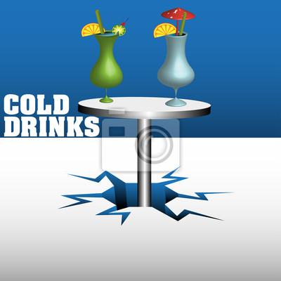 Kalte getränke fototapete • fototapeten Kühlung, Brauerei ...