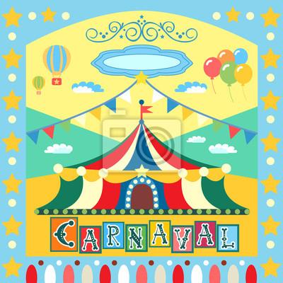 Karnevalsplakat