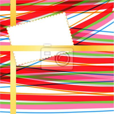 Karte auf abstrakten Hintergrund