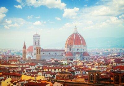 Fototapete Kathedrale Santa Maria del Fiore, Florenz, Italien