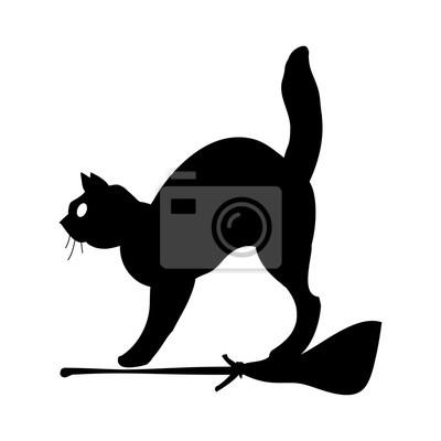 Katze silhouette symbol symbol-design. vektor-illustration isoliert ...