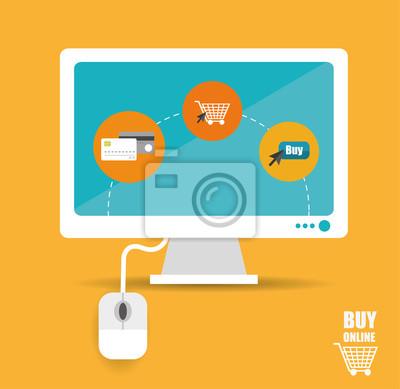 Kaufen Online-Vektor